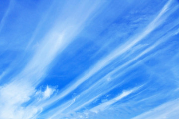 Blue sky with cloud white background