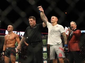 MMA: UFC Fight Night-Calgary-Alvarez vs Poirier