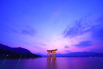 広島 宮島の風景