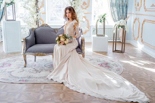 wedding in a luxurious interior