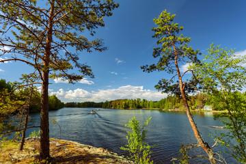 Saimaa lake nearby Lappeenranta, Finland