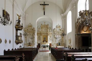 Fototapete - Eisenstadt: Franziskaner-Kirche