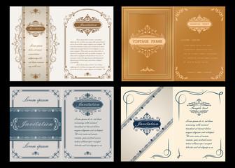 premium invitation or wedding card