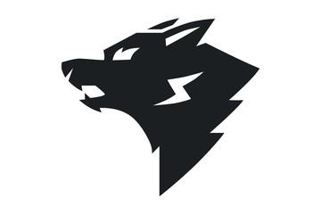 logo Wolf mascot