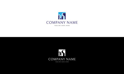 Real estate vector logo image