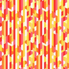 Seamless tile pattern. Abstract geometric wallpaper of the surface. Striped multicolored background. Pretty texture. Print for polygraphy, t-shirts and textiles. Doodle for design. Art creation