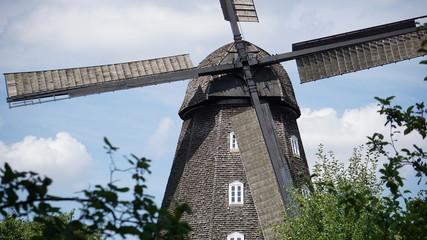 Spoed Fotobehang Molens Mühle.
