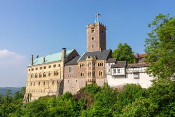 Die Wartburg in der Lutherstadt Eisenach, Thüringen