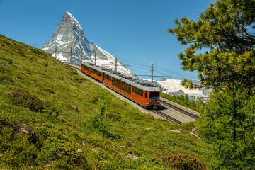 Direction la ville de Zermatt