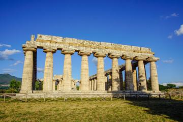 Paestum Italy Summer Temple Love