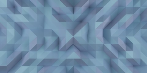 Blue Abstract Triangle Background Illustration Texture