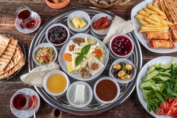 turkish spread breakfast