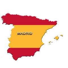 Carte d'Espagne