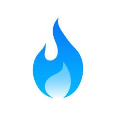 Gas logo. Vector.