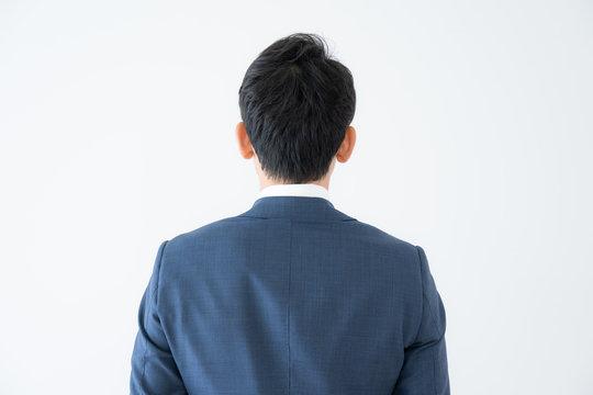 ビジネスマン 背中