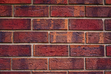 Simple Red brick background