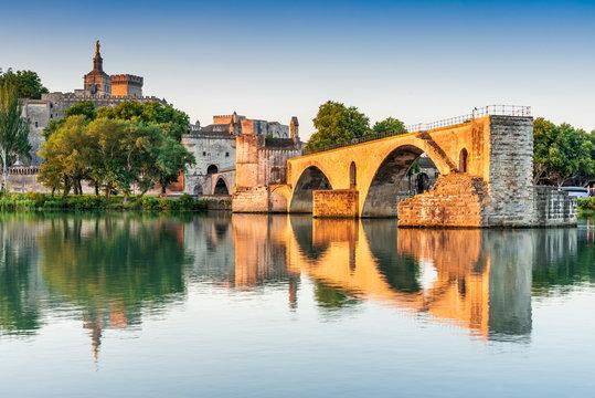 Avignon, Provence, France - Pont Saint-Benezet