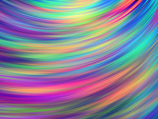 Abstract colorful painted texture. Chaotic rainbow strokes. Fractal background. Fantasy digital art. 3D rendering.