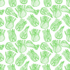 seamless ripe sketch fennel