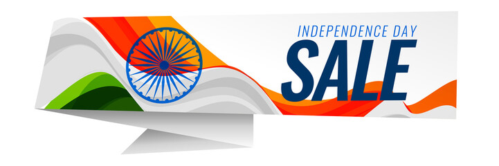 indian independence day sale background