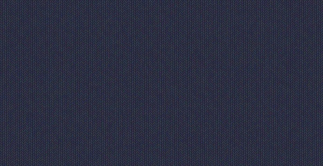 Blue seamless knitted texture, wool melange yarn.