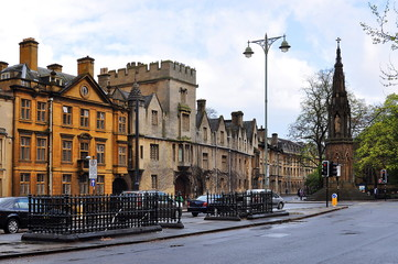 Streets of Oxford, Great Britain
