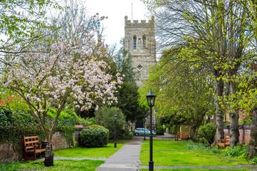 Spring in Eton, United Kingdom