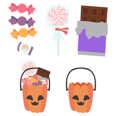 ジャック・オ・ランタン お菓子 かぼちゃ セット