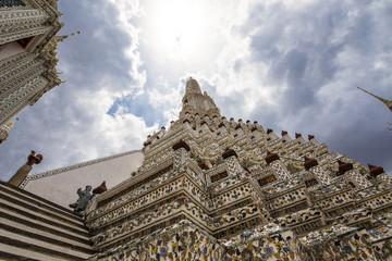 The Sun over Wat Arun, Bangkok Thailand