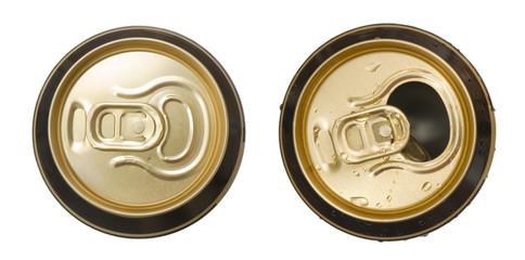 Papiers peints Biere, Cidre Two beer cans
