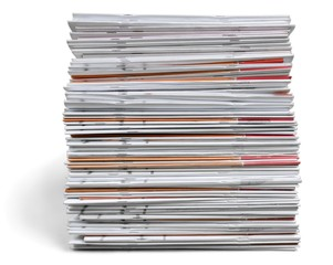 Stack of Magazines / Notebooks