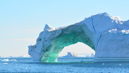 Photo sur Aluminium Pôle Iceberg