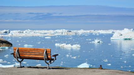 Poster Arctic Greenland. Ilulissat