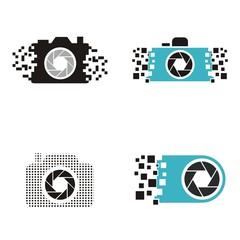 camera pixel logo
