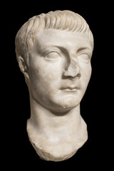 Sculpture bust of Drusus, The Younger