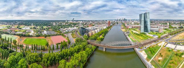 Luftbild Frankfurt Ostseite