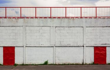 Foto op Plexiglas Stadion Football Stadium Exterior