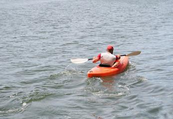 Desporto nautico a remo canoagem
