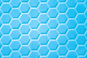 Abstract background, ceramic hexagon. Geometric hexagons.