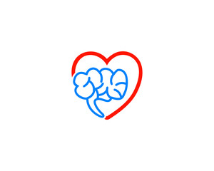 heart and brain logo