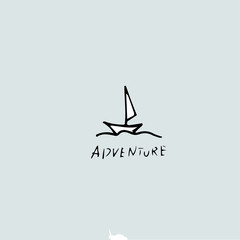 Adventure idea, handwritten