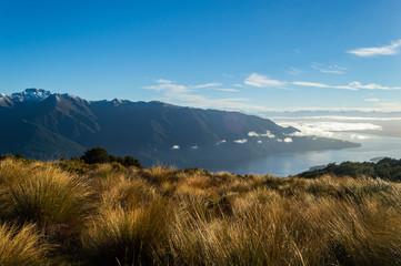 Aussicht Fjordland National Park; Neuseeland, Te Anau