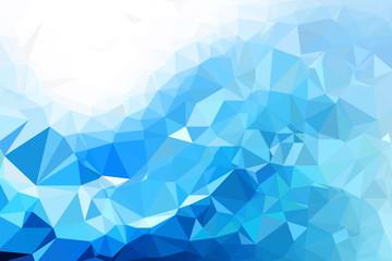 Triangulated colorful background illustration