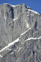 Landscape of Mountain in Winter, Styria, Austria