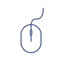 Mouse line icon. Computer mouse line icon.