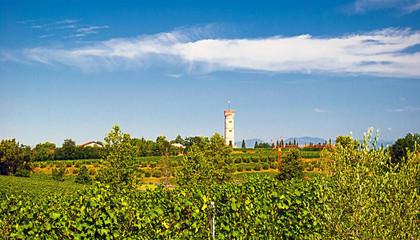 Panorama di San Martino della Battaglia.
