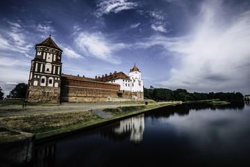 Old castle in Belarus