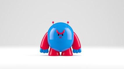 Cute 3D Monster Character