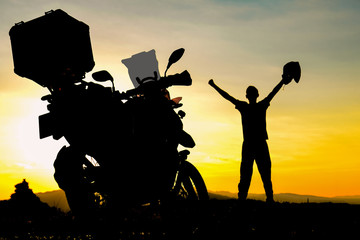 motorcycle trips, adventure and successful discoveries