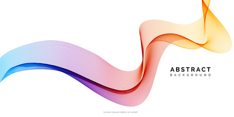 Abstract vector background, spectrum wave
